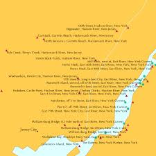 Weehawken Union City Hudson River New Jersey Tide Chart