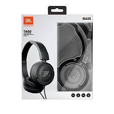 jbl t450. jbl harman t450 on-ear lightweight foldable headphones with mic - black jbl