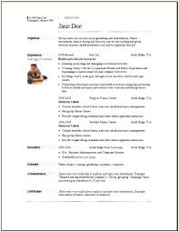 Trainer Resume Sample Fitness Instructor Cv Example Uk ...