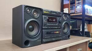 Dàn Trung AIWA XG_420 Có Karaoke (chỉnh Echo) và Loa 3 Đường Tiếng (Vũ  0908804711) - YouTube