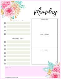 planning calendar template 2018 brilliant free 2018 daily planners youll fall in love with