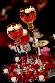 red and silver table decorations. Red Wedding Table Decorations Ideas And Silver