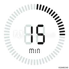 The Digital Timer 15 Minutes Electronic Stopwatch With A
