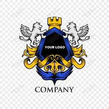 luxury lion shield badge png images