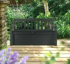 plastic garden box large outdoor storage resin patio storage bench exterior plastic garden storage seat watertight