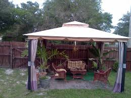 decoration in wilson fisher patio furniture exterior decor photos wilson amp fisher 10 x 12 monterey gazebo replacement canopy garden
