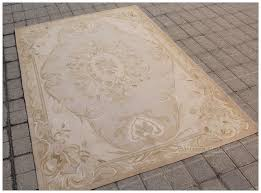 aubusson rug pastel antique french