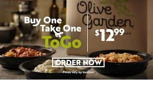olive garden one take one to go