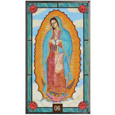 Our Lady of Guadalupe Stained Glass Artwork