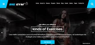 gym website design pin by anthony on web design pinterest
