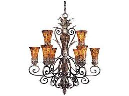 metropolitan lighting salamanca cattera bronze nine lights 40 wide grand chandelier