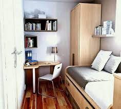 Fitted Bedrooms Small Space. Amusing Small Bedroom Furniture At The Place  With Single Wooden Bed
