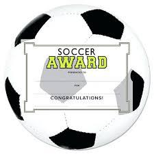 Soccer Certificate Templates For Word Soccer Award Template Soccer Certificate Templates Word Soccer