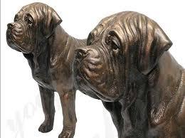 life size antique bronze american