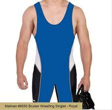 Matman Singlet Size Chart Amazon Com Matman Bruiser Wrestling Singlet Sports