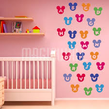 wall stickers colorful alphabet