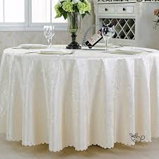 qiao jin tablecloth round tablecloth hotel banquet restaurant large round table cloth lint free easy to clean we7 color b size round 180cm b07d1mnhh4