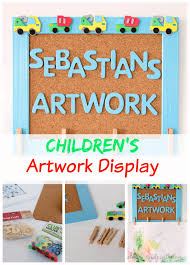 Childrens Artwork Display Childrens Artwork Display Always Made With Love