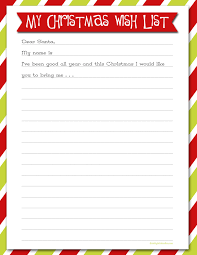 Christmas Wish List Printable Delightful Order Christmas Wish List Free Printable Delightful 5