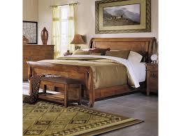Klaussner Bedroom Furniture Klaussner International Urban Craftsmen King Sleigh Bed Old