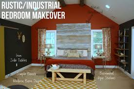 Modern Industrial Bedroom Rustic Industrial Bedroom Makeover Knock It Off East Coast