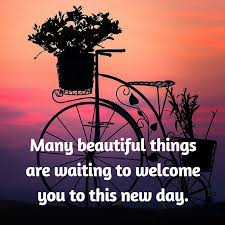 Blessed Morning Quotes Stunning Many Beautiful Things Are Waiting To Welcome You To This New Day
