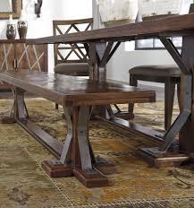 devasheen brown rectangular dining room set a gallery 8