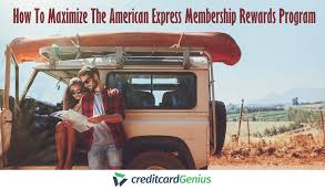 How To Maximize The American Express Membership Rewards