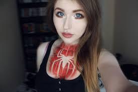 spiderman makeup tutorial you