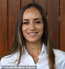 Sandgren match with her looks. Australian Open Chair Umpire Marijana Veljovic Steals The Show Daily Mail Online