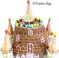 Castle Cake Kids Easy Birthday Cake Recipe Creativesaga