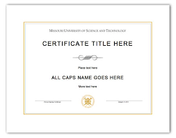 Microsoft Office Word Certificate Templates | Trattorialeondoro