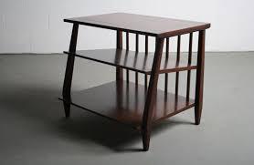 walnut end table. Mid Century Modern Walnut End Table