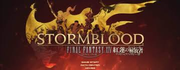 ficial Final Fantasy XIV Stormblood Title Screen PC PS4 BQ 817x320