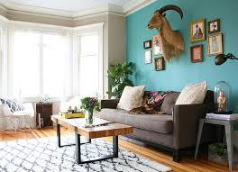 ... Living Room, Combine Teal With Lighter Shades For A Summer Style Living  Room Orange And ...