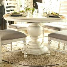 round pedestal kitchen table. Round Pedestal Kitchen Table Impressive Modern White Dining Room On Co With Regard To Attractive S