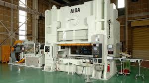 Stamping Press Design Aida Mechanical Presses Ultra High Precision Ulx