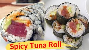 Spicy Tuna Roll Recipe Futomaki Sushi ...