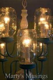 mason jar chandeliers mason jar chandelier from musings 4 mason jar chandelier pottery barn