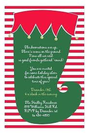 Company Holiday Invitation Wording Informal Christmas Party