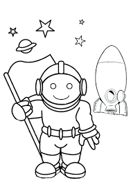 Astronaut Coloring Page Astronaut Astronaut Coloring Pages Printable