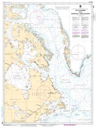 Gulf Of Maine To A Baffin Bay Baie De Baffin By Canadian