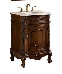 24 classic petite powder room debellis bathroom sink vanity mirror set model bwv