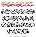 letters in gangster writing
