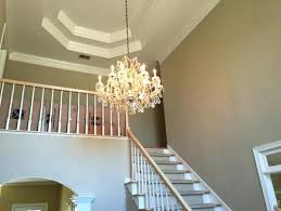 chandelier for two story foyer two story foyer lighting stun what is the best size for a chandelier in average home 2 story foyer chandelier installation