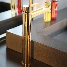 Brass Bathroom Faucet Polished Gold Modern Bathroom Faucet