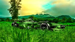 f1 crystal nature car