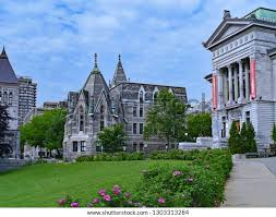 Montreal May 2015 Mcgill University Downtown Stock Photo (Edit Now ...