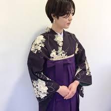 卒業式の袴着付け ヘアセットのプランですananda所属丸山綾香の