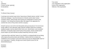 Example Of Letter Recommendation Sample For Teacher From University ...